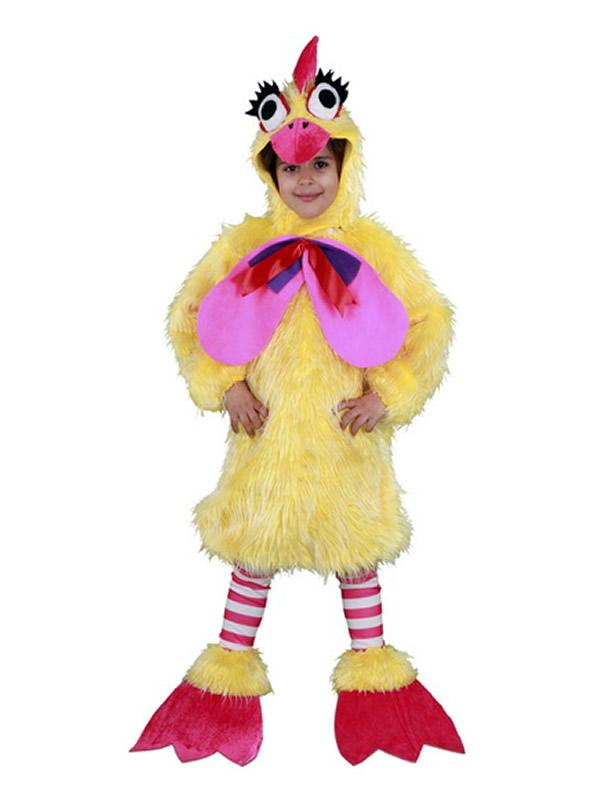 disfraz de gallina caponata niña