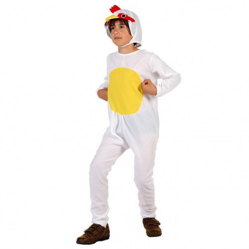 disfraz de gallo blanco barato infantil