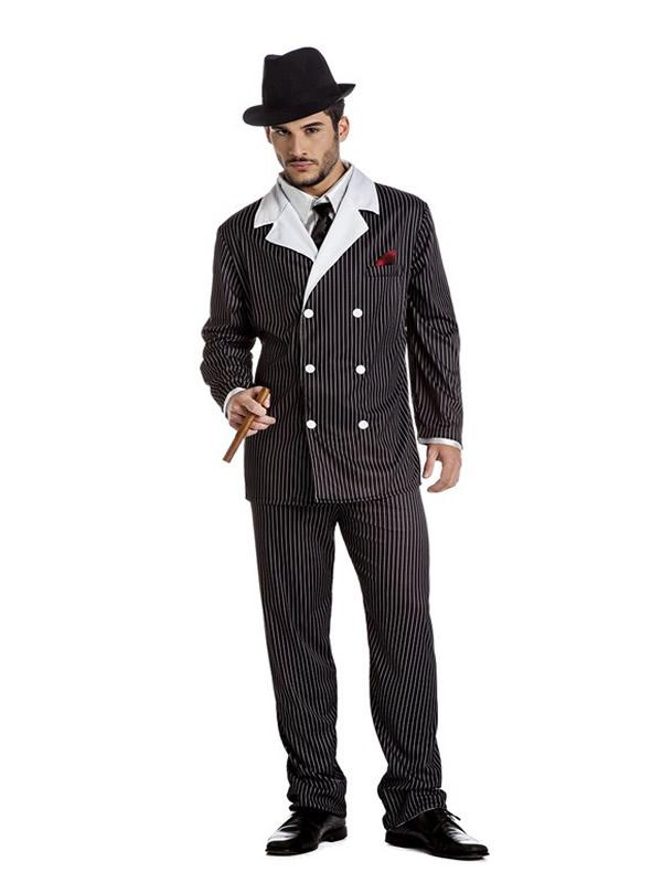 disfraz de ganster para hombre k0280 - Disfraces en Pareja para tu Fiesta Temática