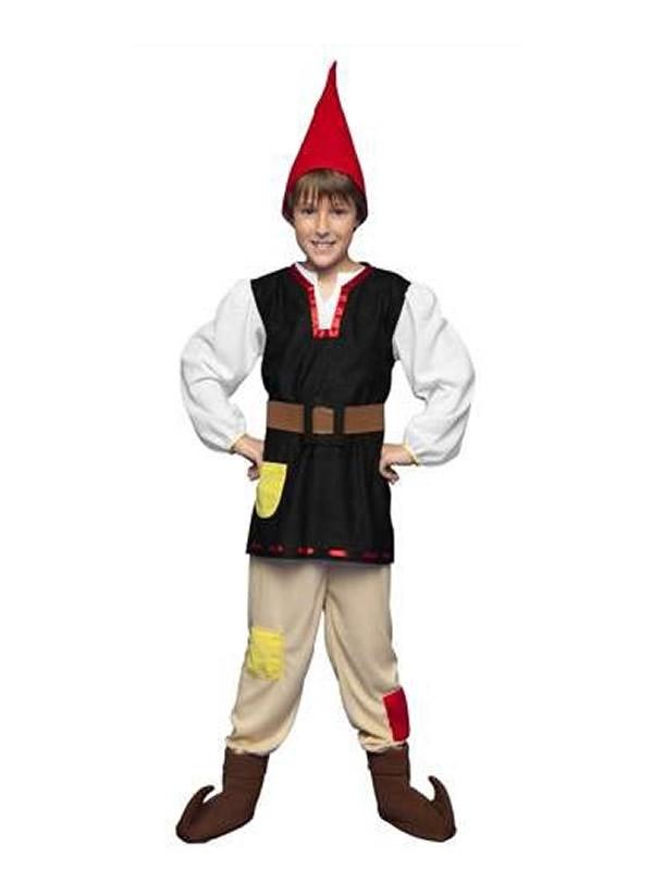 disfraz de gnomo niño