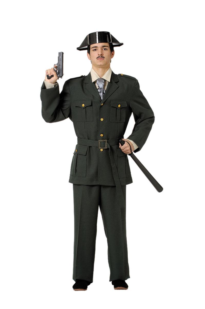 disfraz de guardia civil deluxe adulto