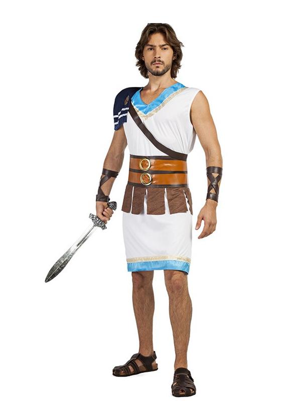 disfraz de guerrero griego hombre