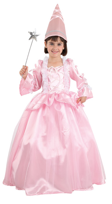 disfraz de hada madrina rosa
