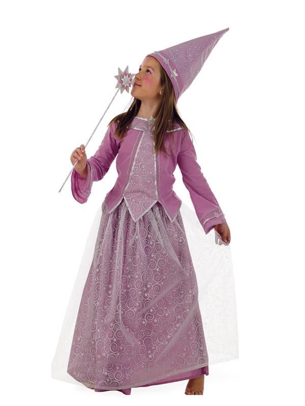 disfraz de hada malva deluxe niña