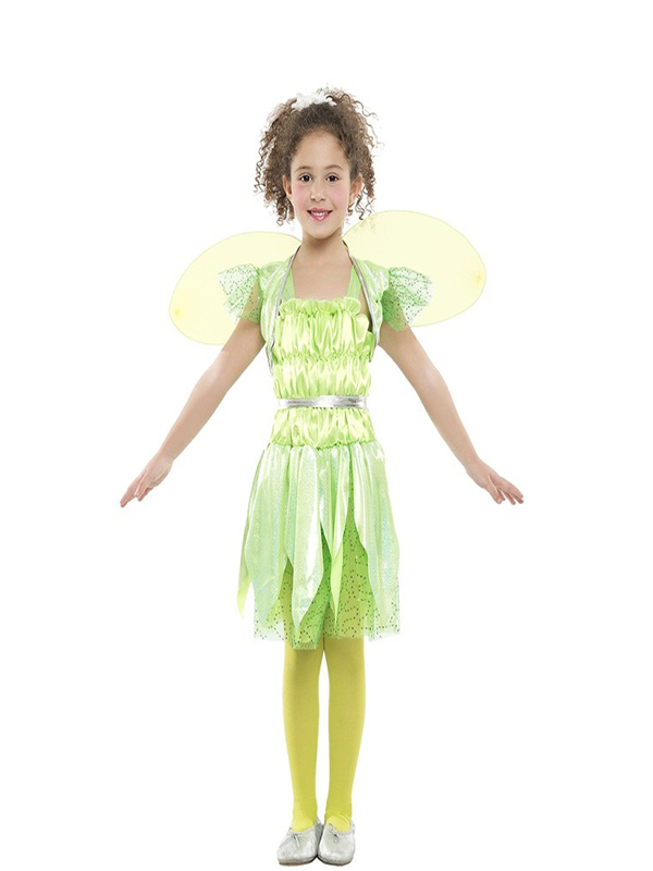 disfraz de hada verde para niña