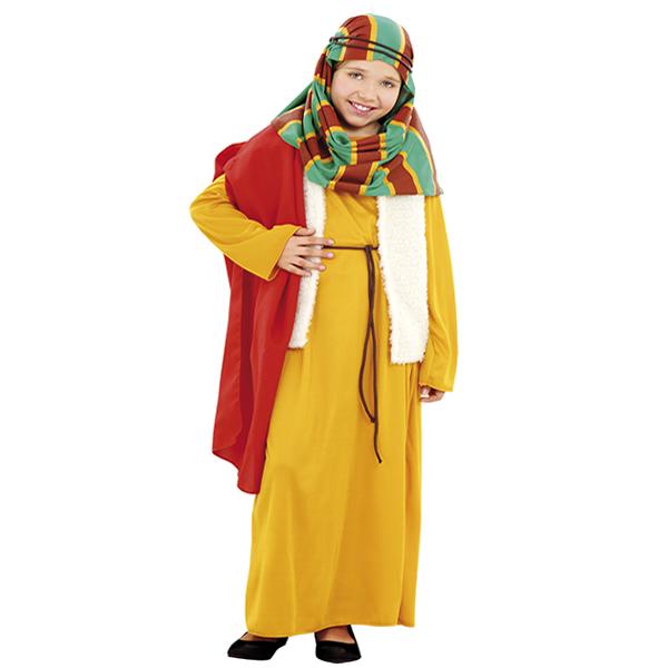 disfraz de hebrea amarilla niña