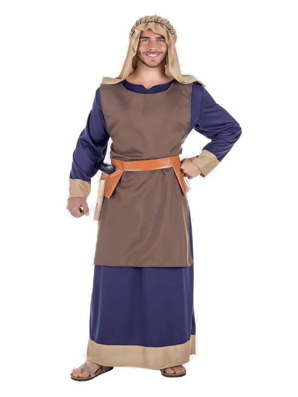 disfraz de hebreo azul para hombre