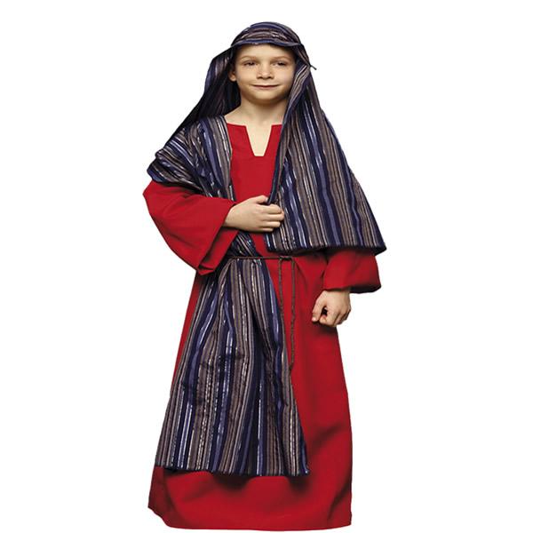 disfraz de hebreo rojo infantil varias tallas egl00300 - Tu Belén Viviente para Navidad