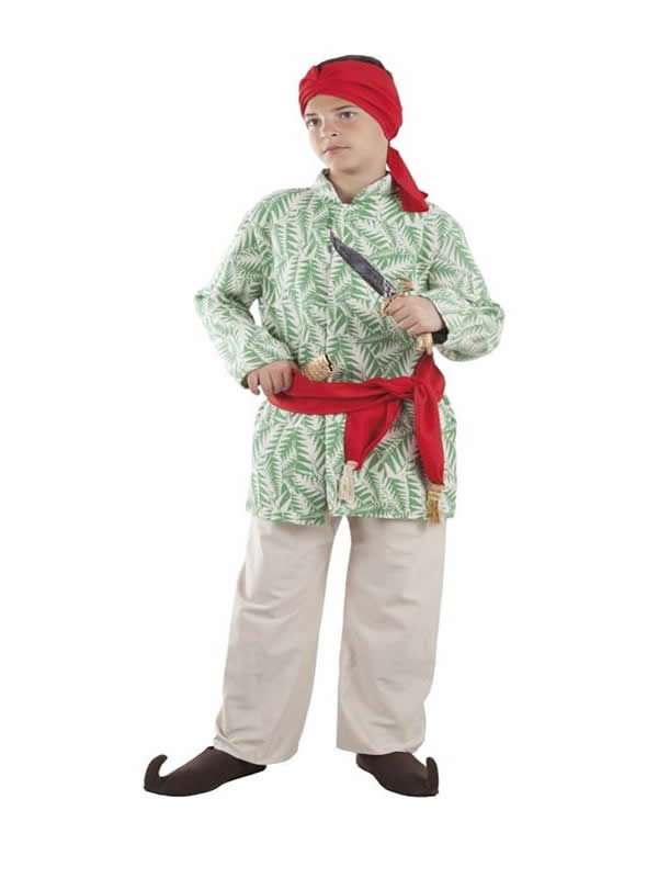 disfraz de hindu para niño