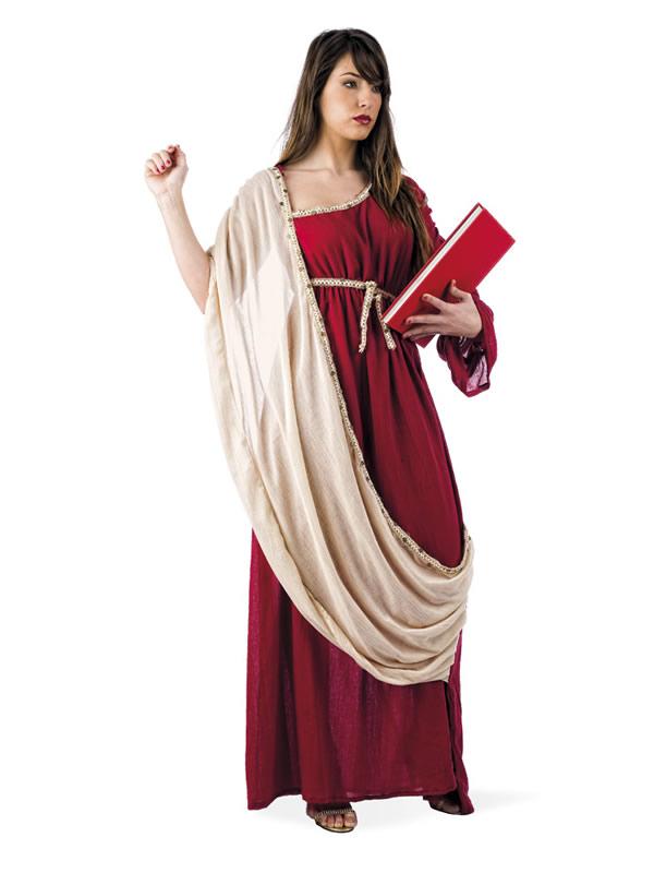 disfraz de hipatia de alejandria mujer