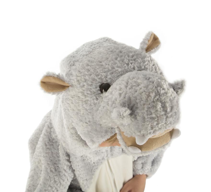 disfraz de hipopotamo para niño