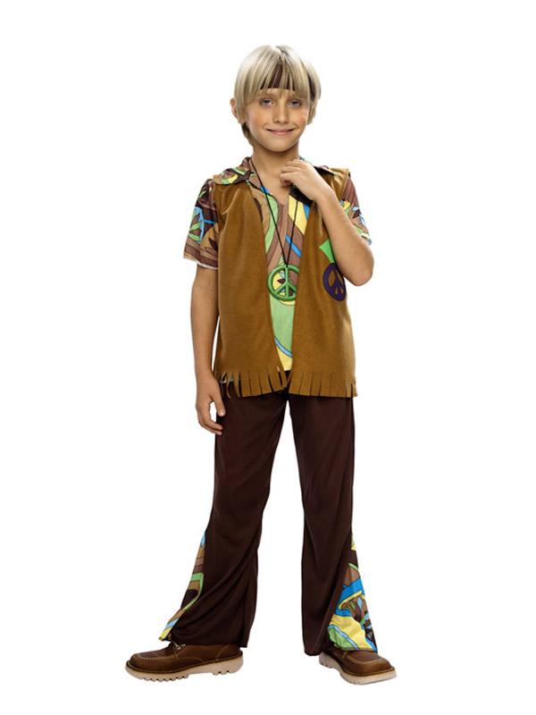 disfraz de hippie chaleco nino y03745 - Top De 10 Disfraces De Hippie En Disfraces Mimo