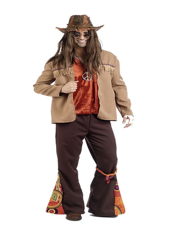 disfraz de hippie leo deluxe hombre MA024H - Ideas de disfraces para festivales y conciertos