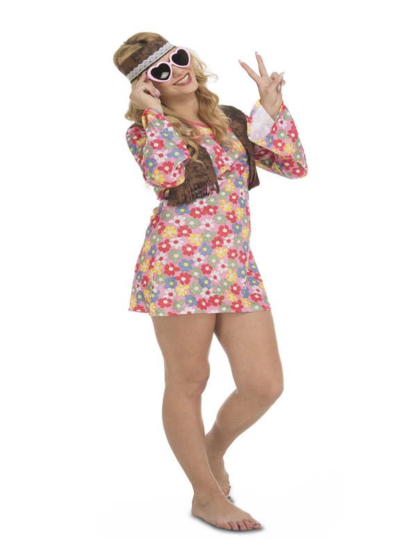 disfraz de hippie primavera para mujer