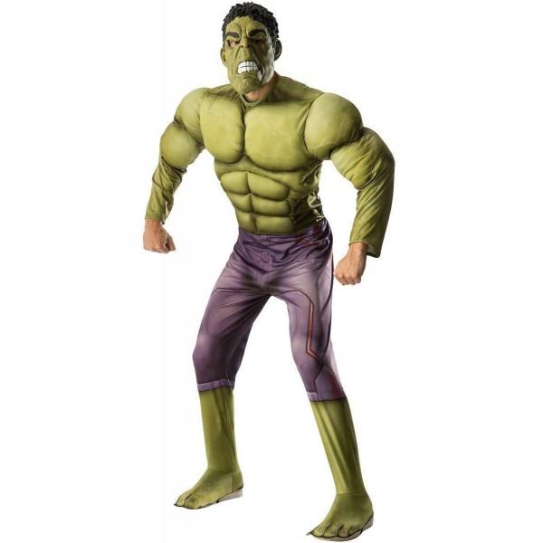 disfraz de hulk vengadores la era de ultron deluxe adulto