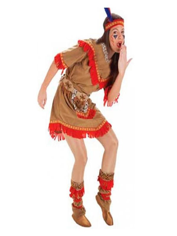 disfraz india apache mujer adulto