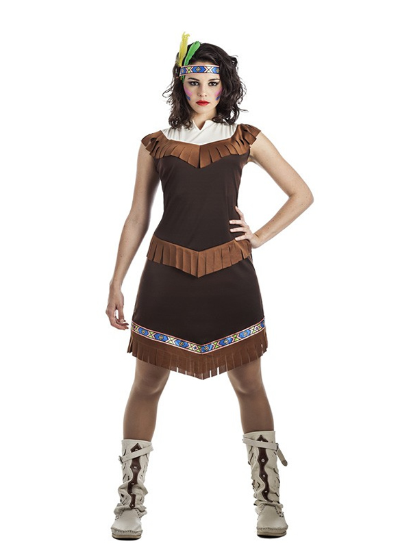 disfraz de india apache para mujer
