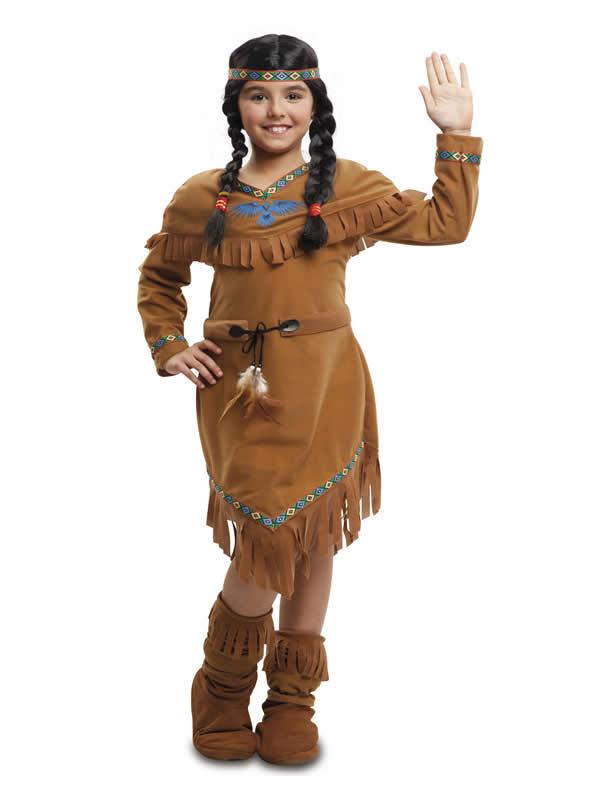 disfraz de india velvet para niña