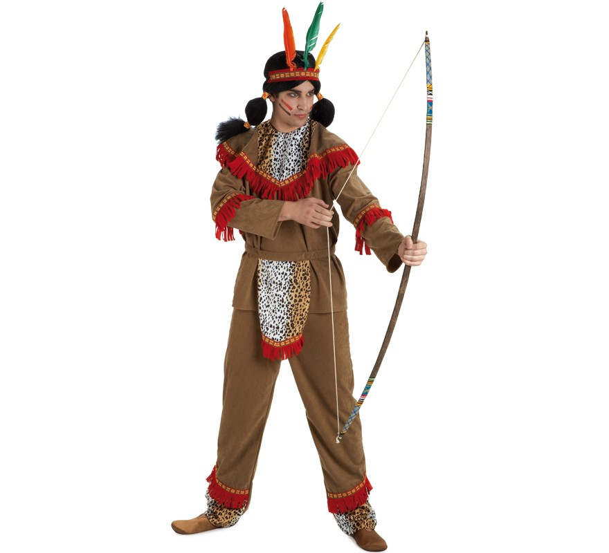 disfraz indio apache hombre adulto