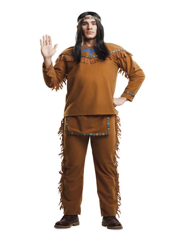 disfraz de indio velvet para hombre