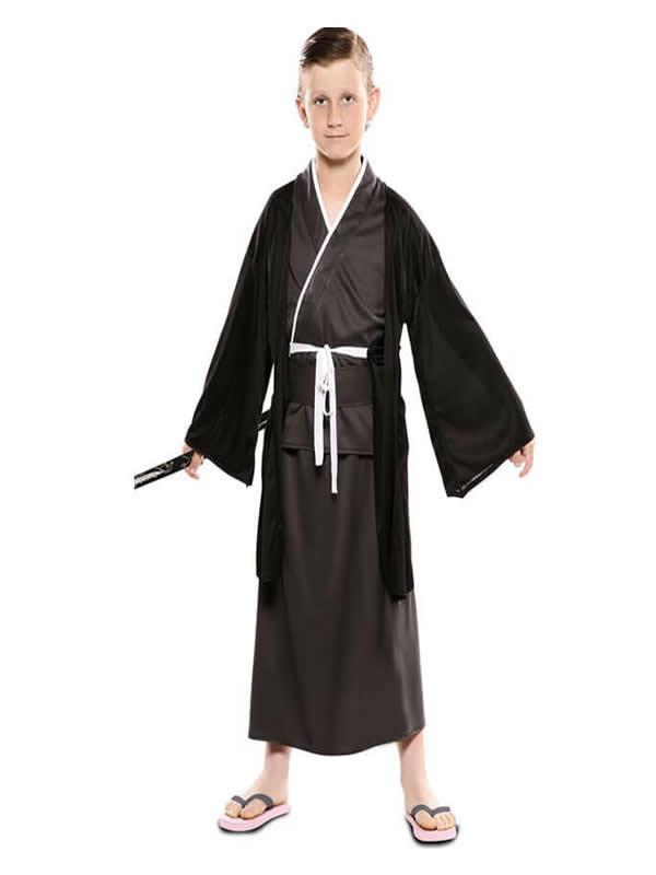 disfraz de japones para niño
