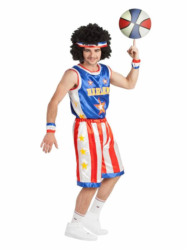 disfraz de jugador de baloncesto hombre