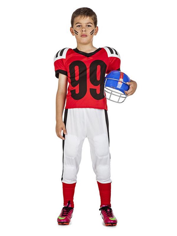 disfraz de jugador de rugby niño