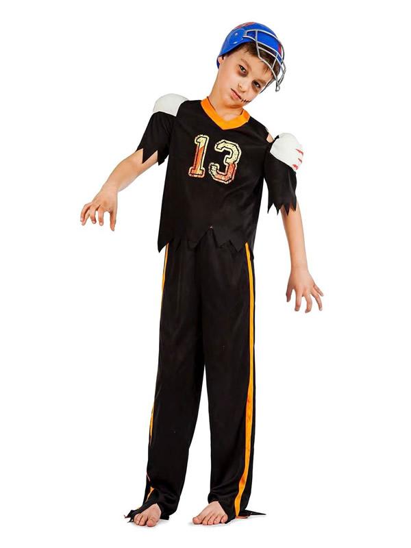 disfraz de jugador de rugby zombie nino K3946 - Los 10 mejores disfraces halloween niños