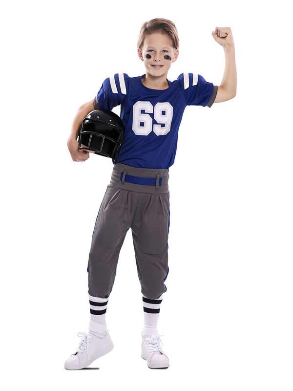 disfraz de jugador futbol americano niño