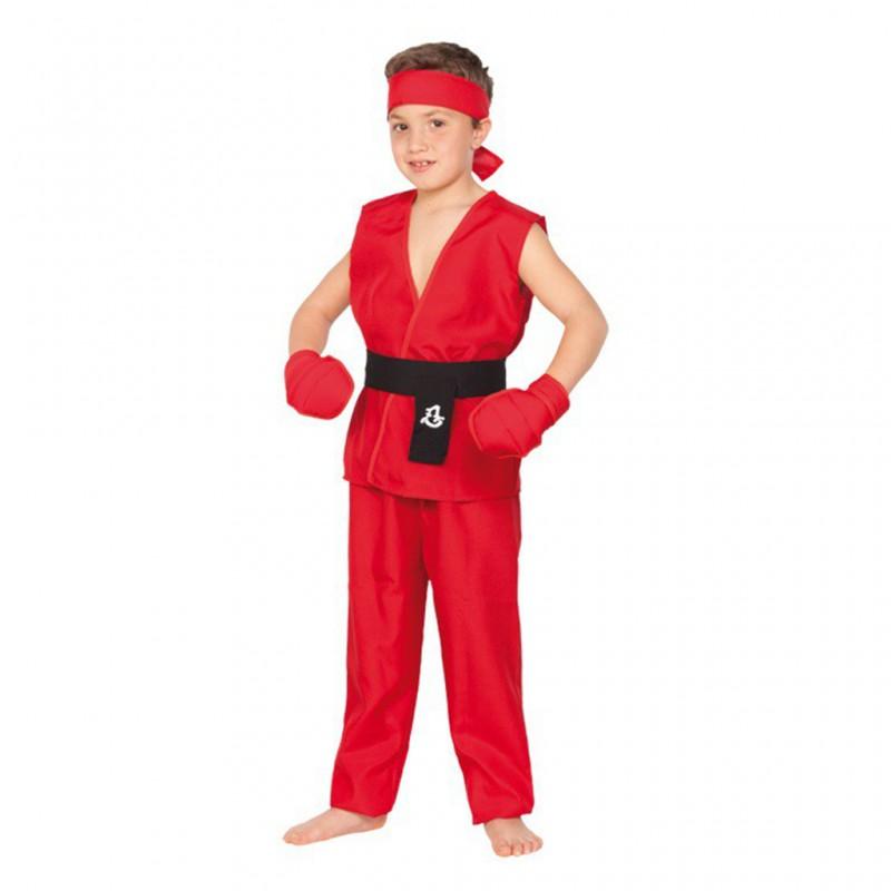 Disfraz de ken street fighter barato ni o comprar barato - Cumpleanos para ninos de 10 anos ...