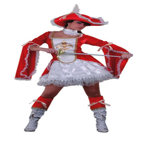 disfraz de lady mosquetera para mujer talla xl egl01386 - Día internacional de los Mosqueteros