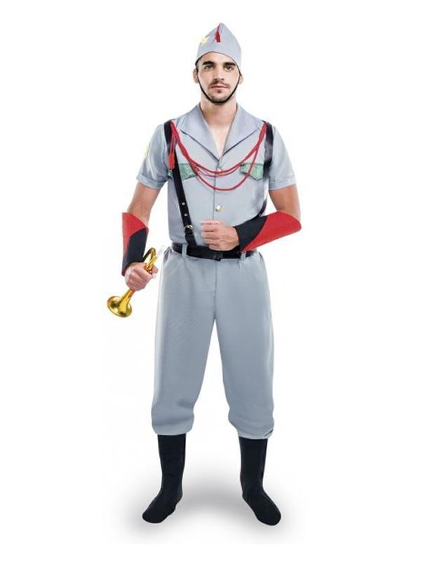 disfraz de legionario para hombre yy05607 - Grandes ideas de disfraces de parejas para el carnaval.