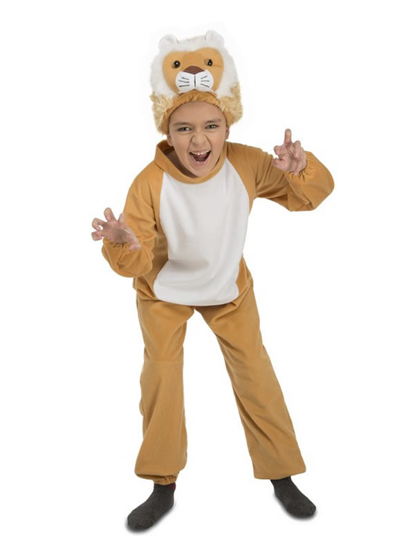 disfraz de leon barato para niño