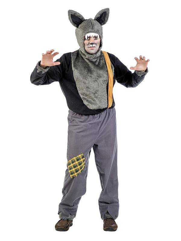 Disfraz de lobo feroz para hombre comprar barato for Disfraz de lobo feroz