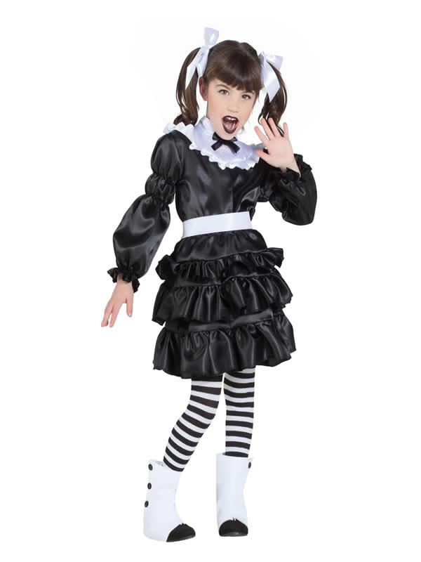 disfraz de lolita gotica niña