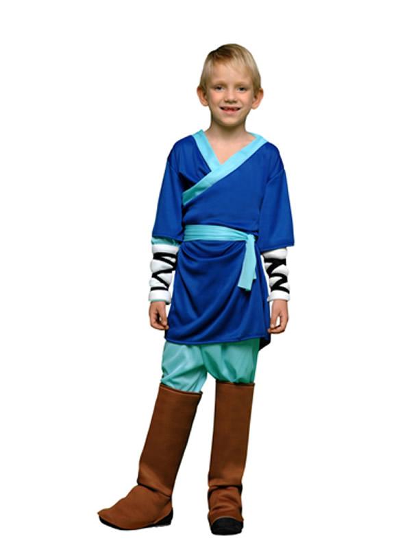 disfraz de luchador kung fu niño