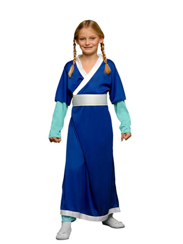 disfraz de luchador kung fu niña