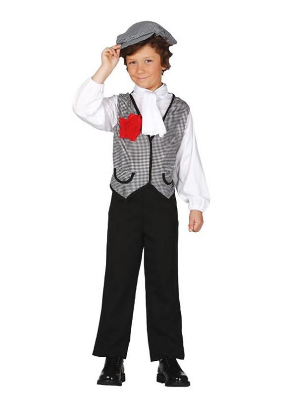 disfraz de madrileño niño