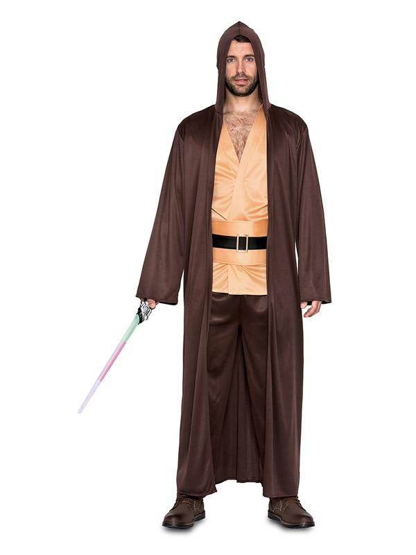 disfraz de maestro galactico jedi hombre
