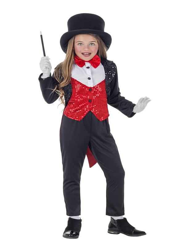 disfraz de maga lujo para niña