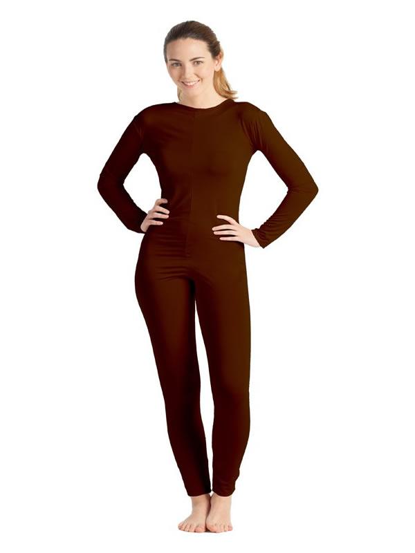 disfraz de maillot o mono marron mujer