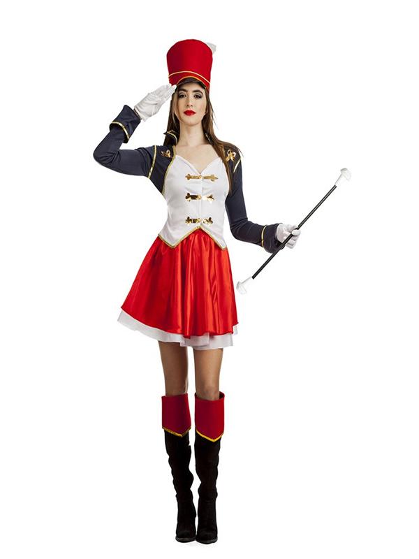 disfraz de majorette para mujer