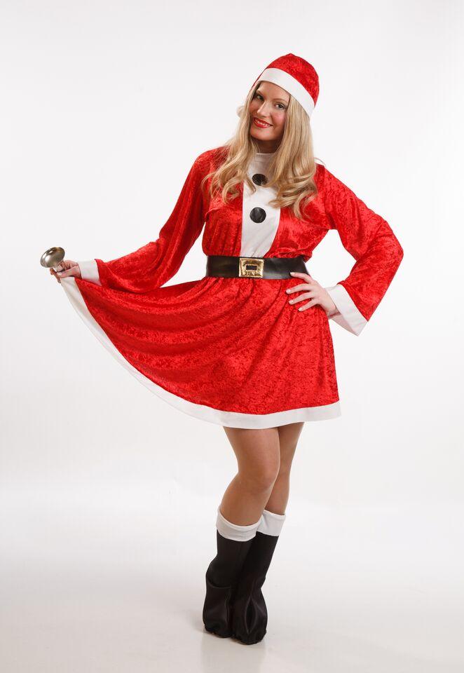 disfraz de mama noel con vestido mujer talla ml pr91066 - Disfraces para tus fiestas navideñas