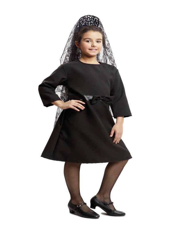 disfraz de manola para niña