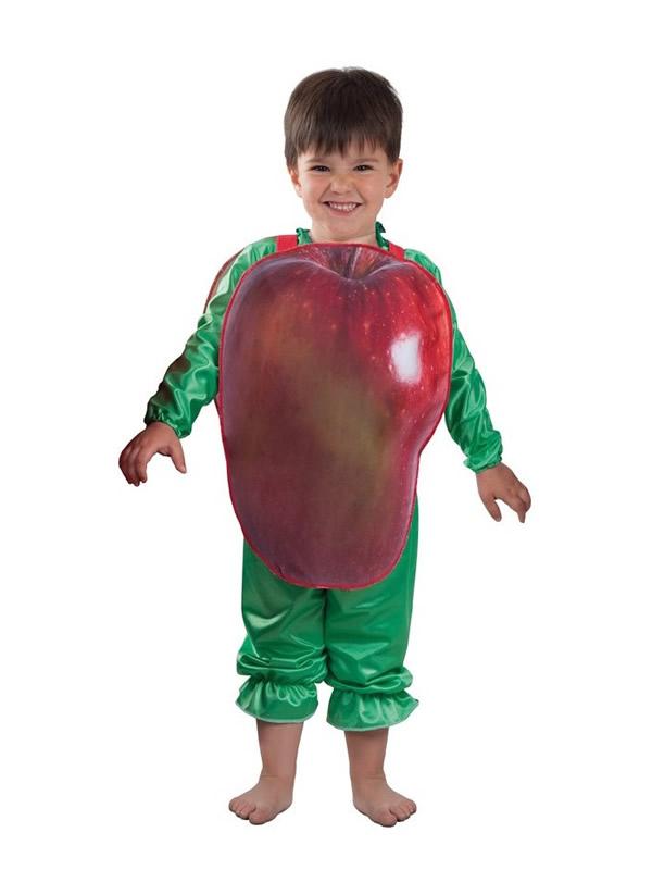 disfraz de manzana para bebe