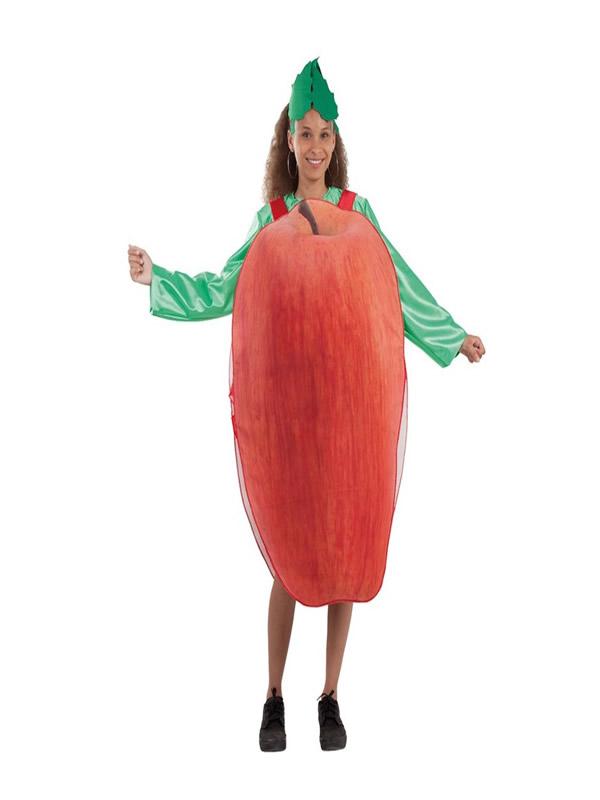 disfraz de manzana para mujer