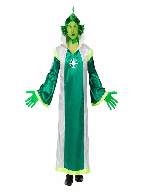 disfraz de marciano verde para hombre