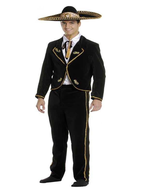 disfraz de mariachi lujo para hombre