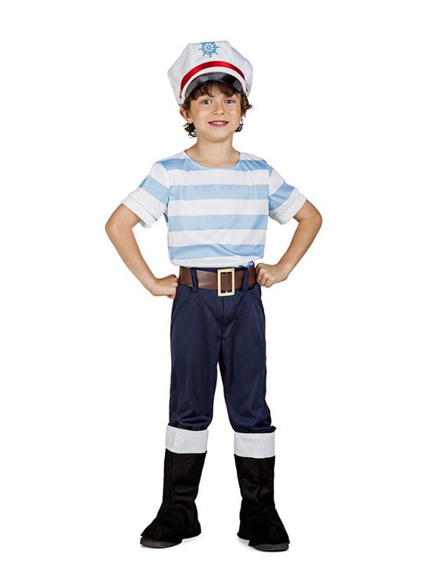 Disfraz de marinero lobo de mar ni o comprar barato - Disfraz de marinero casero ...