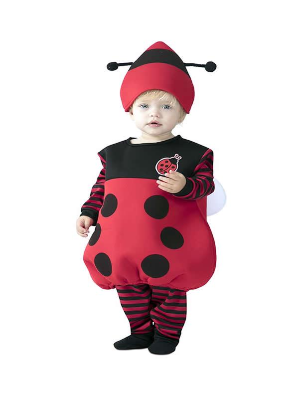 disfraz de mariquita bebe